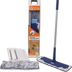 Bona Premium Microfiber Mop Set, 15-in base