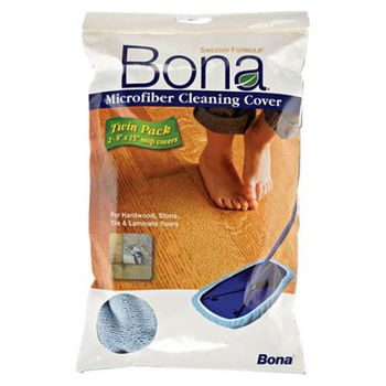 Bona ORIGINAL Mop Cover, 8 x 15 inch, 2-pack (FITS ORIGINAL MOP STYLE)