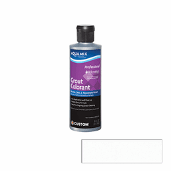 Aqua Mix Grout Colorant 8 oz - Bright White