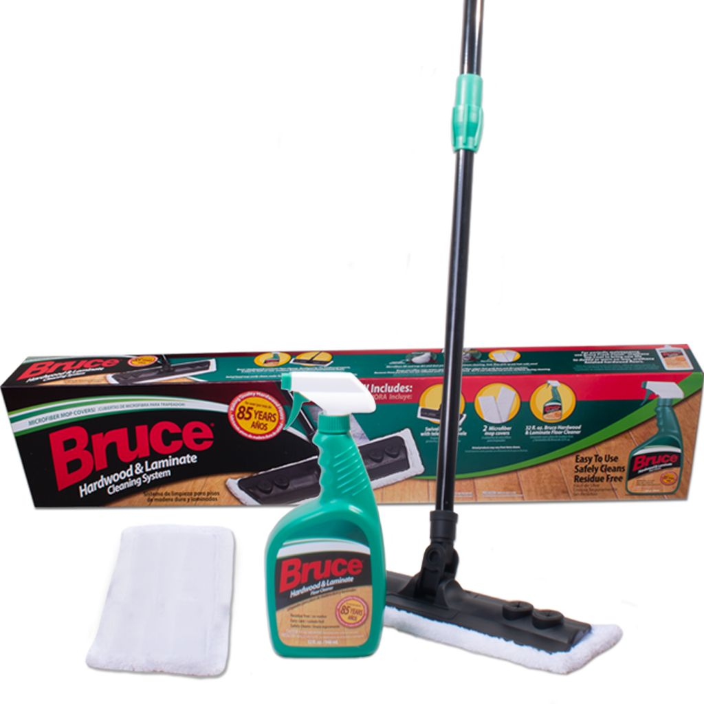 Bruce Hardwood Laminate Floor Mop Set