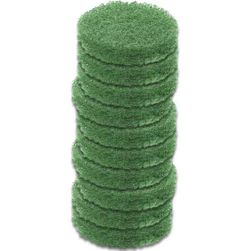 Caddy Clean Green Abrasive Scrub Pads -package of 10