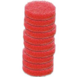 Caddy Clean Red General Use Scrubbing Pads - 10 pack