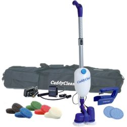 Caddy Clean Cordless Auto Scrubber with Carry Case