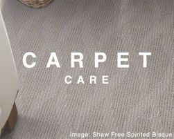 Carpet Care - Helpful Tips
