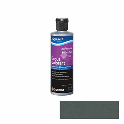 Aqua Mix Grout Colorant 8 oz - Charcoal Gray