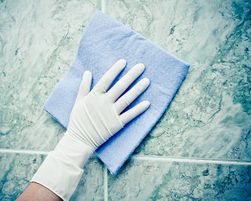 Cleaning Stains from Natural Stone Floors & Walls