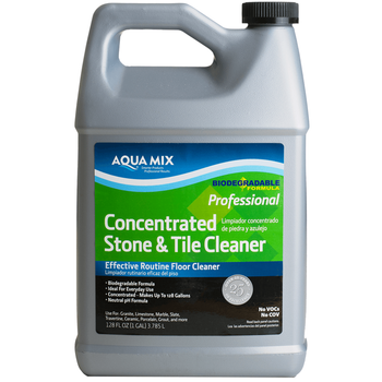 Aqua Mix Concentrated Stone & Tile Cleaner, 1 Gallon