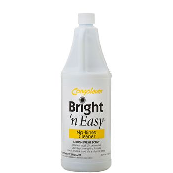 Congoleum Bright 'n Easy No-Rinse Cleaner (concentrate), 32 oz