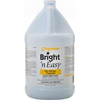 Congoleum Bright 'n Easy No-Rinse Cleaner CONCENTRATE, gallon