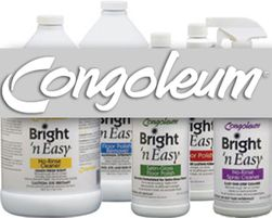 Congoleum Floor Cleaners - Polishes
