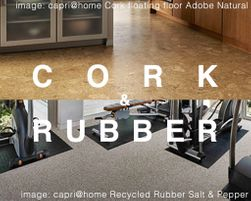 Cork & Rubber Floor Care