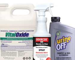 Disinfectant Cleaners, Deodorizers