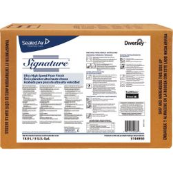 Diversey SIGNATURE UHS Floor Finish, 5 Gallon