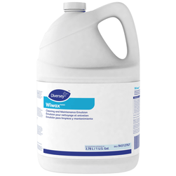 Diversey WIWAX Cleaning & Maintenance Emulsion, 1-Gallon