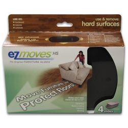 EZ Moves Felt Furniture Slides for Hard Surface Floors (set of 4)