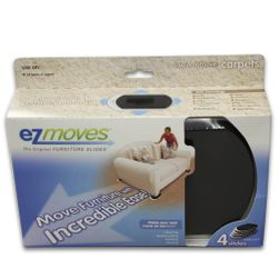 EZ Moves Furniture Slides for Carpet (set of 4)