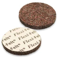 "FlexiFelt 1-1/2"" Felt Furniture Pads, Dark - 8 pack"
