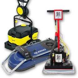 Floor Machines | Brushes | Pads