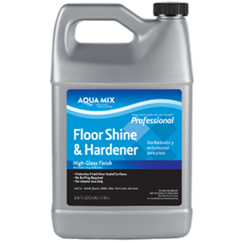 Aqua Mix Floor Shine & Hardener - Gallon