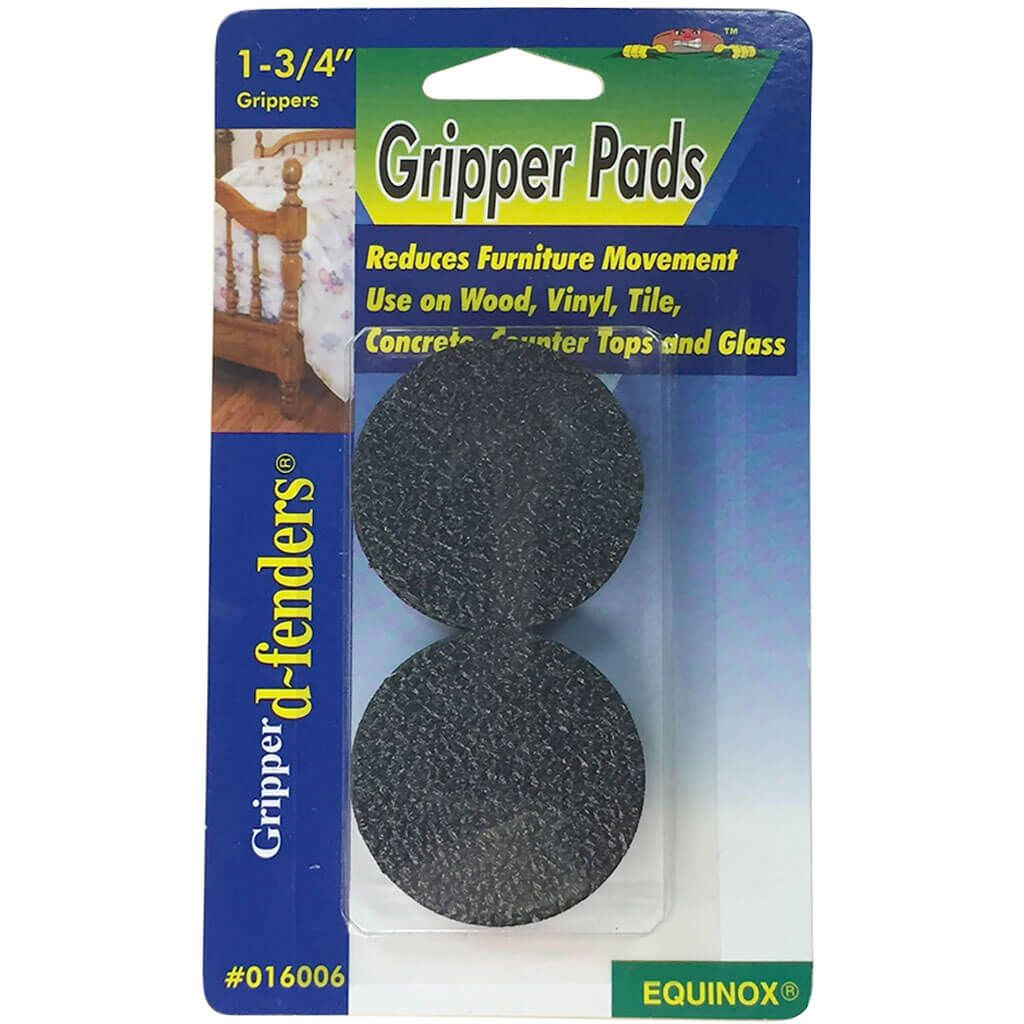 Gripper Furniture Pads 1 3 4 Quot Round 4 Pkgexpanded