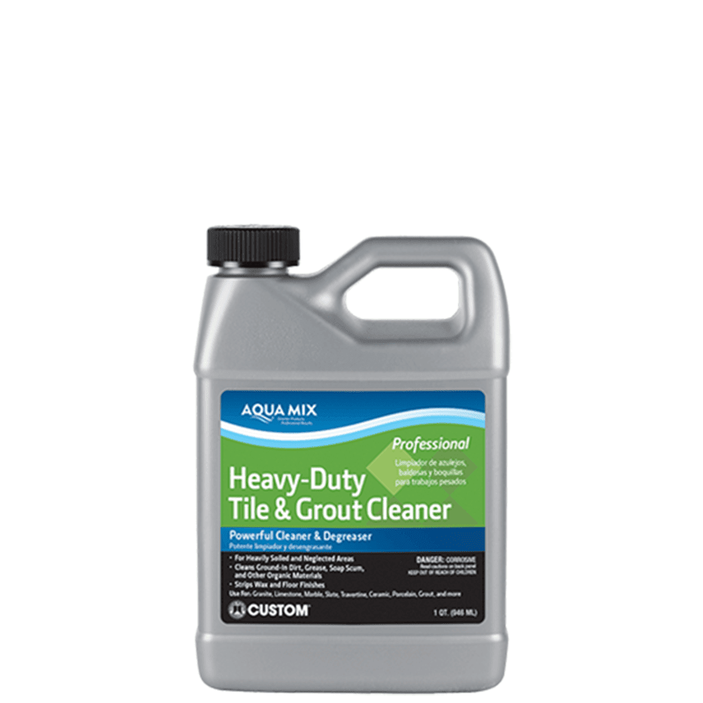 Aqua Mix Heavy Duty Tile Grout Cleaner Concentrate Quart Ormd