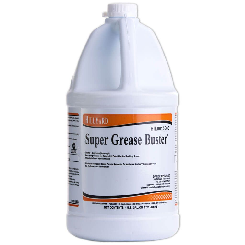Hillyard Super Grease Buster, 1 Gallon