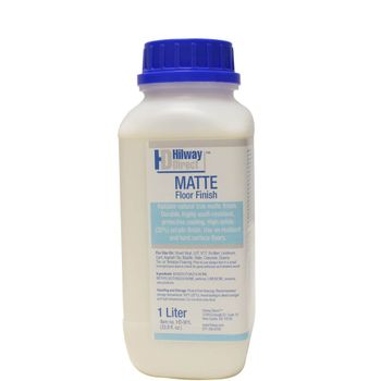 Hilway Direct Floor Finish MATTE, 33.8 Ounce (1L)