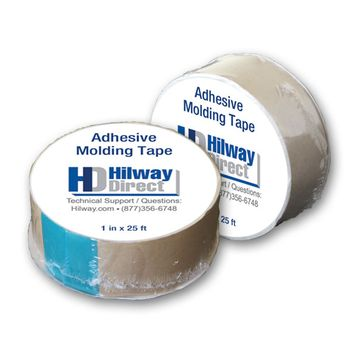 Hilway Direct Adhesive Molding Tape, 25 foot roll