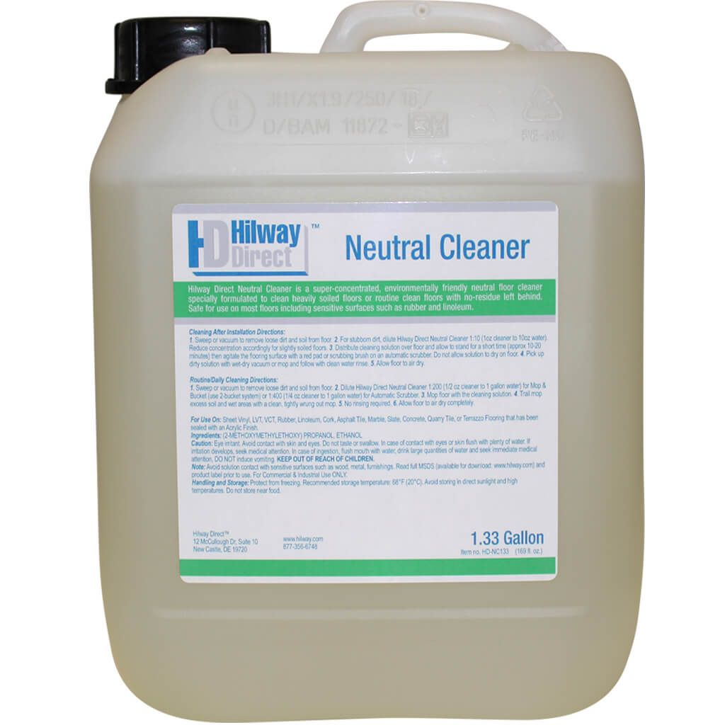 Hilway Direct Neutral Floor Cleaner Concentrate 1 33 Gallon