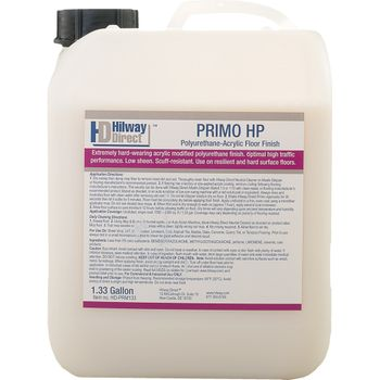 Hilway Direct Primo HP Floor Finish, 1.33 Gallon (5L)