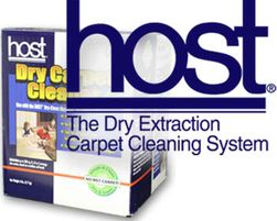 HOST Dry Carpet Cleaner Care