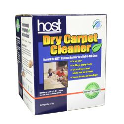 HOST Dry Carpet Cleaner 6lb Box