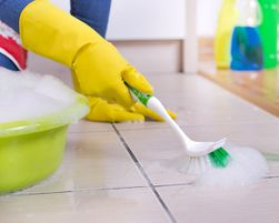 How to Clean Grout on Floors