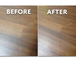 How to Fix Scratches on Luxury Vinyl Floors