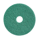 HTC Twister 12-inch Green Floor Machine Pad - 2/pack