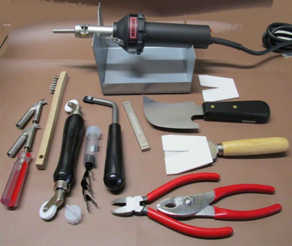 Basic Floor Welders Kit With Leister Hot Jet S 120v Hot