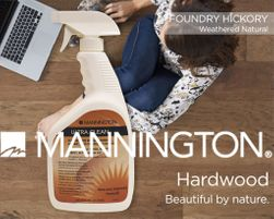Mannington Hardwood Floor Care