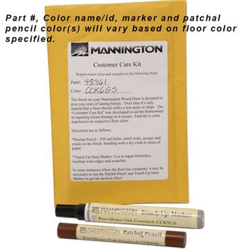 Mannington Wood Floor Touch-Up Kit