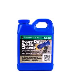 MIRACLE Heavy Duty Acidic Cleaner, Quart