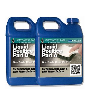 MIRACLE Liquid Poultice 1-quart each Part A / Part B