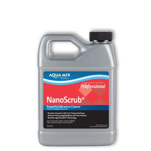 Aqua mix nanoscrub gallon.