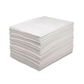 "Oil Only Sorbent Pads - 15"" x 19"" Light, 100/carton"