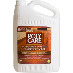 PolyCare SUPER CONCENTRATE Wood and Laminate Floor Cleaner - Gallon
