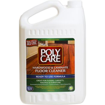 PolyCare Hardwood & Laminate Cleaner - Gallon Refill