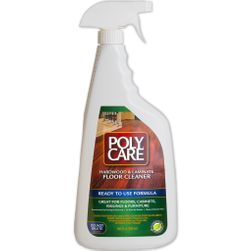 PolyCare Ready-to-Use Cleaner for Hardwood & Laminate Floors, 32oz Spray