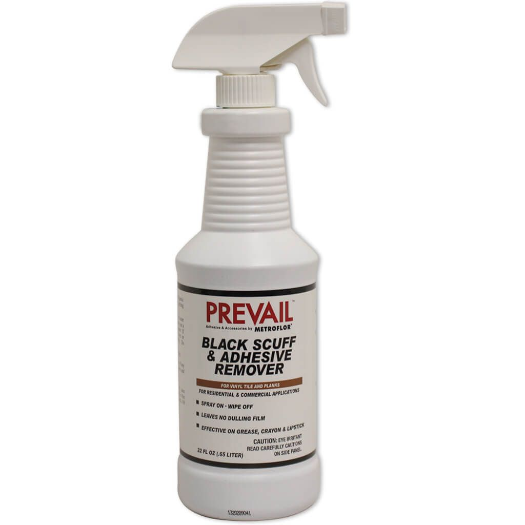 Prevail Metroflor Black Scuff Amp Adhesive Remover 22 Ounce