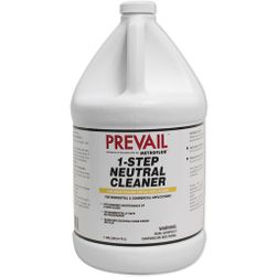 Prevail METROFLOR 1-Step Neutral Cleaner Concentrate, 1-Gallon