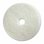 "Prime Source 17"" White Super Polishing Pad"