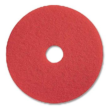 """Prime Source 19"""" Red Buffing Pad"""