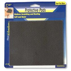 Protective FELT Furniture Pad, 5-inch x 6-inch - 1/package